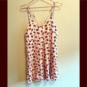 Xhilaration pink leopard nightgown